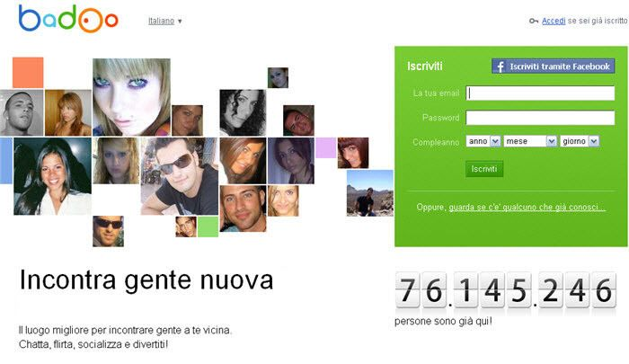 video hard italiani elimina account badoo
